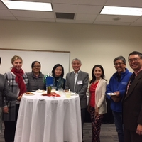 2018 Winter Reception Faculty and Staff